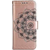 Kucosy Teléfono Móvil para Galaxy S8, Galaxy S8Flip Funda PU Piel Flip Case