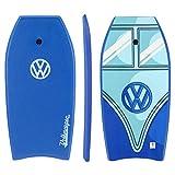 Volkswagen Bodyboard - 104cm VW Bulli T1 Samba Bus HDPE Slick-Base Boogie Board...