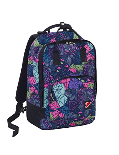 Zaino / Borsa SEVEN - THE DOUBLE PRO BAG - Fuxia - 24 LT schienale staccabile