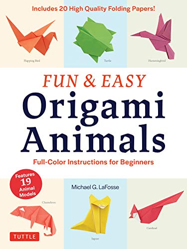 Fun & Easy Origami Animals Ebook: Full-Color Instructions for ...
