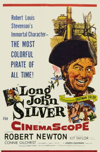 long-john-silver-poster-11-x-17-inches-28cm-x-44cm-1954-style-a