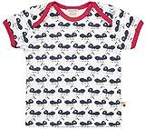 loud + proud Unisex Baby Bio Baumwolle, GOTS Zertifiziert T-Shirt, Blau (Navy Ny), Herstellergröße: 62/68