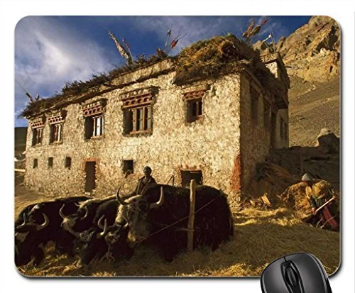 farmers-in-ladakh-north-india-mouse-pad-mousepad-houses-mouse-pad