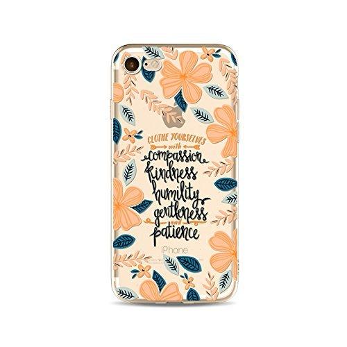 Coque iPhone 5 5s Housse étui-Case Transparent Liquid Crystal Fleur en TPU Silicone Clair,Protection Ultra Mince Premium,Coque Prime pour iPhone 5 5s-style 2 style 9