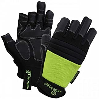 ARBORTEC AT1100 CHAINSAW AND CLIMBING GLOVES 3 DIGIT (8)