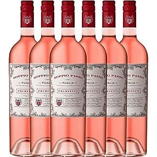 6er-Paket-Doppio-Passo-Rosato-IGT-Puglia-2016-CVCB-halbtrockener-Roswein-italienischer-Sommerwein-aus-Apulien-6-x-075-Liter