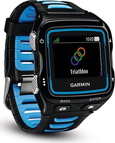 Garmin Forerunner 920XT Multisport-GPS-Uhr – Schwimm-, Rad-, Laufeffizienzwerte, Smart Notification, inkl. Herzfrequenz-Brustgurt, 1,3 Zoll (3,3cm) Display - 2