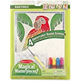 Melissa and Doug Magical Rain forest Masterpieces Art Paper Product, Multi Color