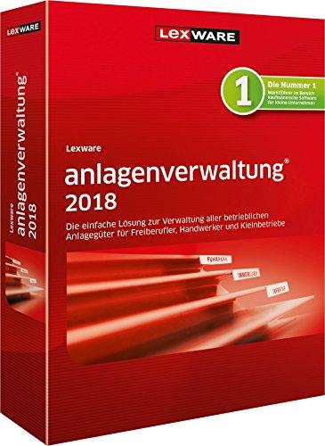 Lexware anlagenverwaltung 2018 - Die einfache Lösung zur Verwaltung aller betrieblichen Anlagegüter für Freiberufler, Handwerker und Kleinbetriebe (Upgrade-lösung)