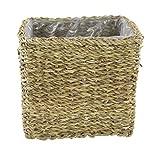 Seegras-Korb mit Einsatz (G) eckig gerade 1 Stück - S