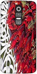 Snoogg Crayfishes Designer Protective Back Case Cover For LG G2