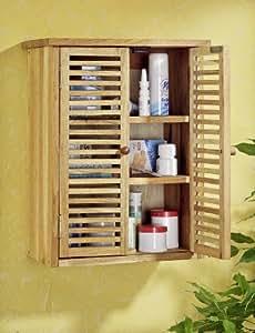 Meuble de salle de bain en bois massif cuisine - Meuble de salle de bain amazon ...