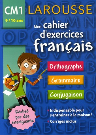 Mon cahier d'exercices Français CM1