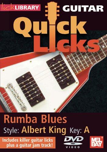 Preisvergleich Produktbild Guitar Quick Licks - Rumba Blues / Albert King