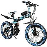 Biciclette per bambini, Biciclette per bambini, Bici da corsa per ragazzi 6-15 anni, Mountain Bike (Size : 20 Inch)