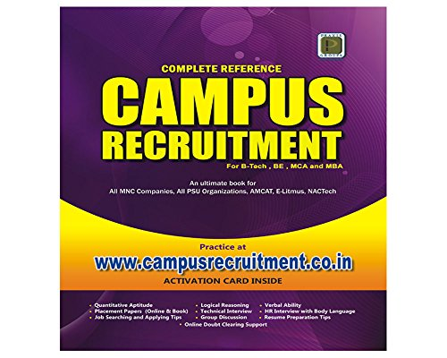 Campus Recruitment Complete Reference