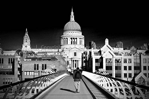fotografia-di-un-457-x-305-cm-stampa-fotografica-di-st-pauls-cathedral-and-the-london-millennium-foo