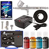 Master Airbrush Cake Decorating System. With Airbrush, Compressor, FREE Storage Case & 4