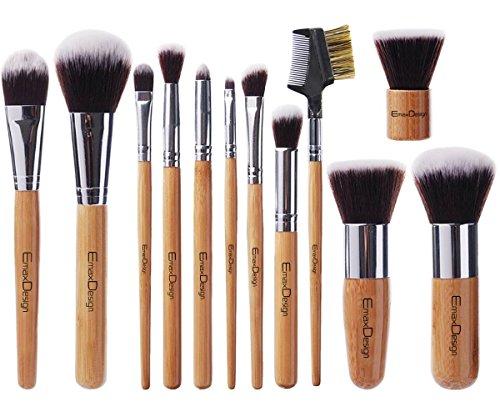 emaxdesign-12-pieces-makeup-brush-set-professional-bamboo-handle-premium-synthetic-kabuki-foundation