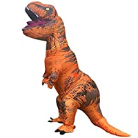 T-Rex Inflatable Dinosaur Gorilla Costume Party Fancy Dress Cosplay Outfit