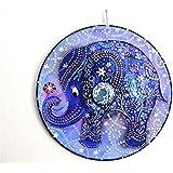 Elefant, handbemalte Deko aus CD, Elefant-Deko