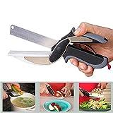 buycrafty Clever Cutter 2in1Food Chopper–ersetzen Ihre Küche Messer und Schneidebretter