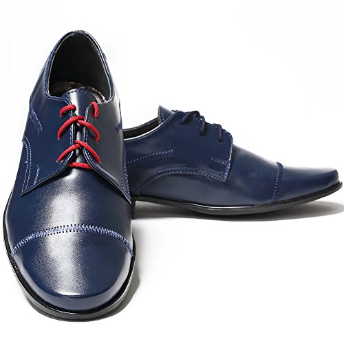 Stan Dar , Chaussures de ville à lacets pour garçon dark blau