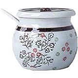XU-Storage Barattolo Di Condimento in Ceramica Colorata Per Uso Domestico Barattolo Di Zucchero Serbatoio Di Cucina Creativo Barattolo Di Condimento Porca puttana