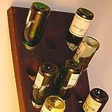 Weinregal für 15 Flaschen - Echtes Rüttelbrett aus der Champagne