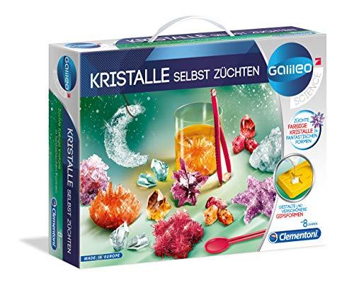 Clementoni 59116 Clementoni-59116-Galileo - Kristalle selbst züchten, Mehrfarben