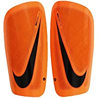 Nike Mercurial Lite-SP2086 Espinilleras, Unisex, Naranja (Total Orange/Hyper C) rimson/Black, M