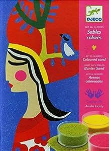 Djeco - Sables colorés – Les reines