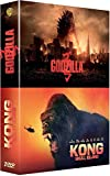 Monsters : Godzilla + Kong : Skull Island - Coffret DVD