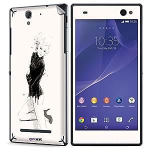 GsmKart SXC3 Mobile Skin for Sony Xperia C3 (Xperia C3-705)