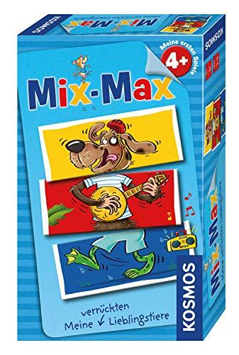 KOSMOS 711450 Mix-Max Lieblingstiere, Mitbringspiel -