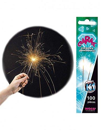 Cierges magiques 18 cm - 35 s (x100) 0635292583841