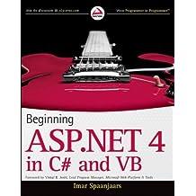 By Imar Spaanjaars - Beginning ASP.NET 4: In C# and Vb (Wrox Programmer to Programmer)