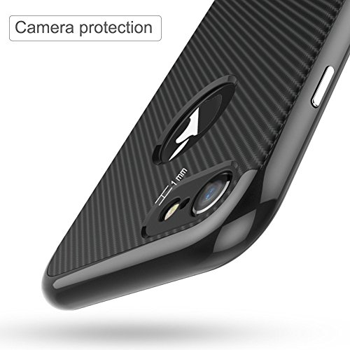 Ultraslim Case Hülle für Apple iPhone 7Plus Schutzhülle Cover Handyhülle Hardcase Schwarz