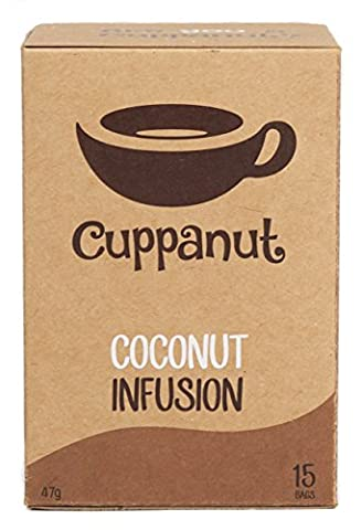Cuppanut Coconut Infusion - 15 Bags