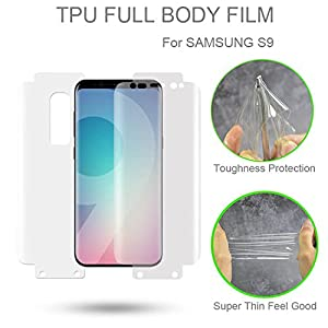 JPACC 360 Degrees Full Body Screen Guard for Samsung Galaxy S9 Plus(S9+)