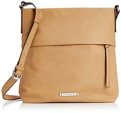 esprit tabea damen tasche braun 230 camel one size schuhe handtaschen. Black Bedroom Furniture Sets. Home Design Ideas