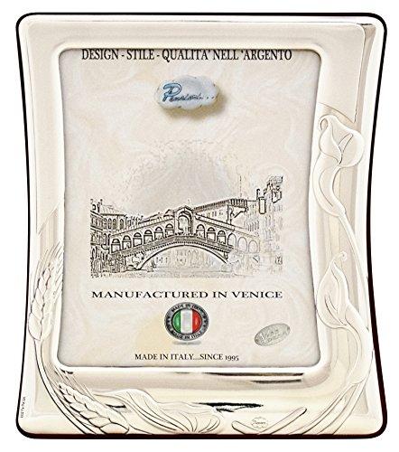 CALLA XL Cornice per Foto 13x18cm Portafoto Argento Artigianale Made in Italy