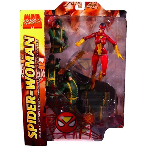 Marvel Select Spider-Woman Action Figure Variant Version (No Hair)