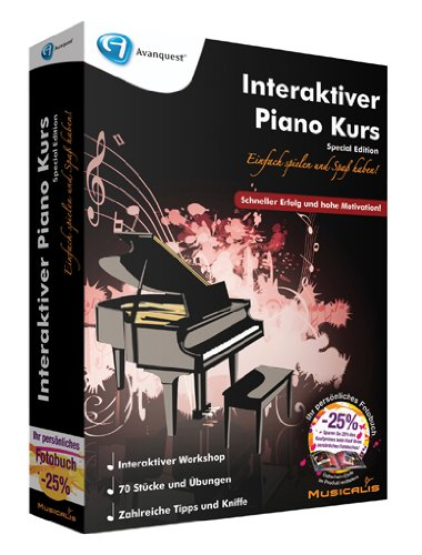 Interaktiver Piano Kurs - Special Edition