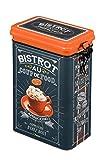 Natives 411920Coup de Food Kaffee Kaffeedose Metall Mehrfarbig 13x 8,5x 18cm