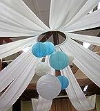 Fetez moi - Rouleau de tenture intissée blanche - 50 m x 80 cm