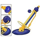 GOPLUS Aspirateur Piscine Aspirateur Automatique Nettoyeur Piscine Bleu 90 x 43 x...
