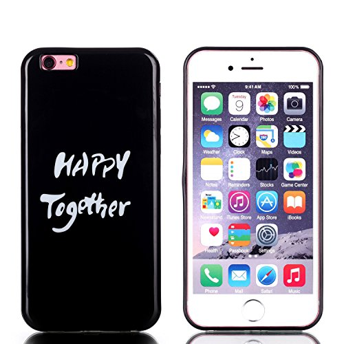 "MOONCASE Etui pour Apple iPhone 6 Plus / 6S Plus (5.5"") Silicone Gel TPU Housse Coque Case Cover XS01 XS08 #0302"