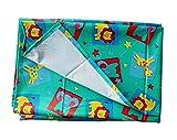 #1: My Newborn Mattress Protector Plastic Sheet - Water Proof Reusable (36x54 inch, Green)