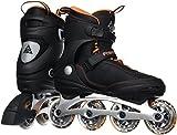 K2 Skate Freedom Inlineskates für Männer, Orange / Schwarz, Herren, Orange/Schwarz